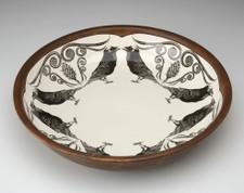 Small Pasta Bowl: Raven