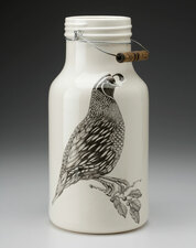 Jug with Handle: Quail #1