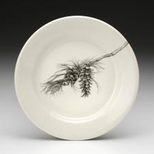Bread Plate: Pine Branch