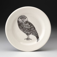 Bread Plate: Burrowing Owl