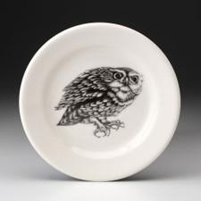 Bread Plate: Screech Owl #2