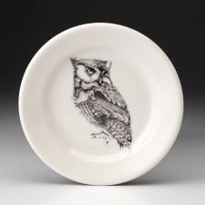 Bread Plate: Screech Owl #1