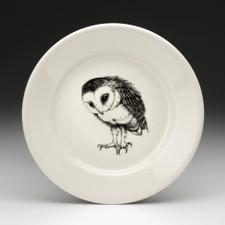 Salad Plate: Barn Owl