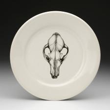 Dinner Plate: Fox Skull