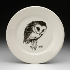 Dinner Plate: Barn Owl