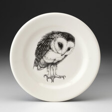 Bread Plate: Barn Owl