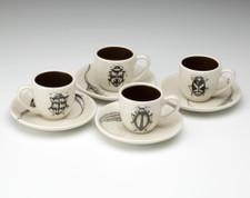 Espresso Set of 4: Beetles