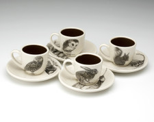 Espresso Set of 4: Woodland