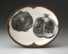 Small Serving Dish: Pomegranate