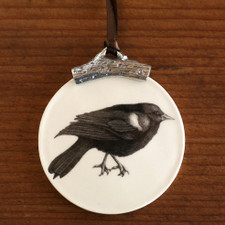 Ornament: Red-Winged Blackbird