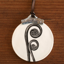Ornament: Fiddlehead Fern