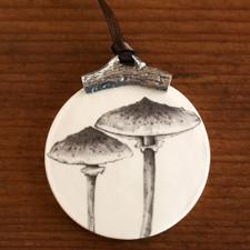 Ornament: Parasol Mushroom #6