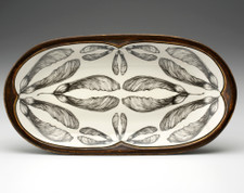 Rectangular Serving Dish: Maple Seed