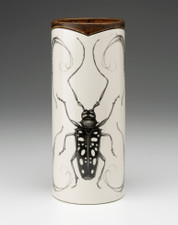 Large Vase: Long Horn Beetle