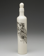 Bottle: Screech Owl #1