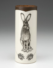 Small Vase: Tall Hare