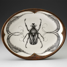 Small Serving Dish: Flower Beetle
