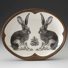 Small Serving Dish: Sitting Hare