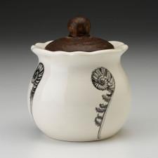 Sugar Bowl: Coiled Wood Fern