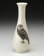 Bud Vase: Burrowing Owl