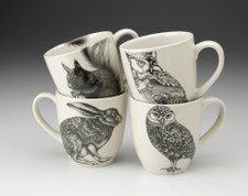 Set of 4 Mugs: Woodland