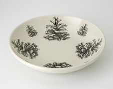 Shallow Bowl: Pinyon Pine Cone