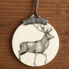 ORNAMENT: RED BUCK