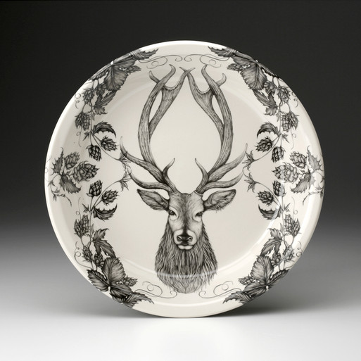 PIE PLATE: RED STAG