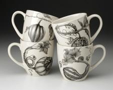 Set of 4 Mugs: Gourds