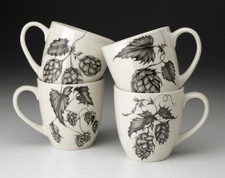 Set of 4 Mugs: Hops