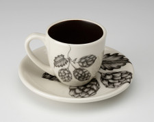 Espresso Cup and Saucer: Hops #3