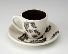 Espresso Cup and Saucer: Hops #4