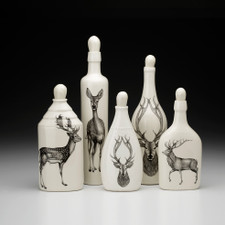 Set of 5 Bottles: Deer