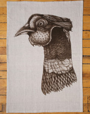 Tea Towel: Pheasant Head