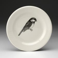 Bread Plate: Black-capped Chickadee