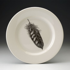 Dinner Plate: Quail Feather