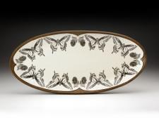 Fish Platter: Swallowtail Butterfly