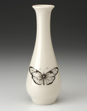 Bud Vase: Marble Butterfly