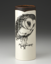 Small Vase: Barn Owl