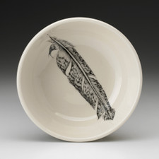 Cereal Bowl: Pheasant Feather