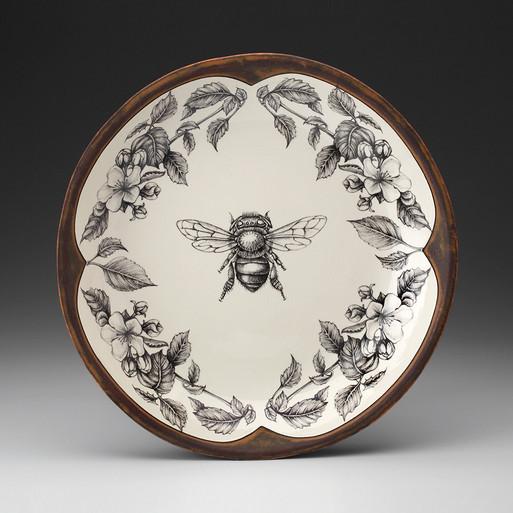 Honey Bee Small Round Platter - LAURA ZINDEL DESIGN