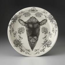 Pie Plate: Angus Bull