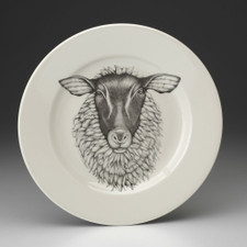 Dinner Plate: Suffolk Sheep