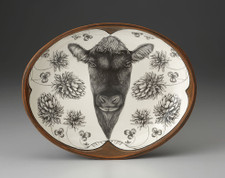 Small Serving Dish: Angus Bull