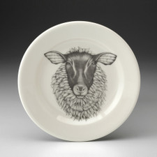 Bread Plate: Suffolk Sheep