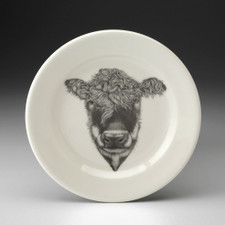 Bread Plate: Hereford Cow