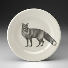 Bread Plate: Red Fox