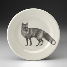 Bread Plate: Red Fox