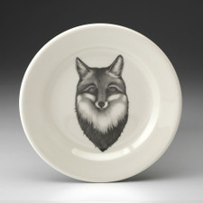 Bread Plate: Fox Portrait