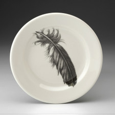 Bread Plate: Quail Feather